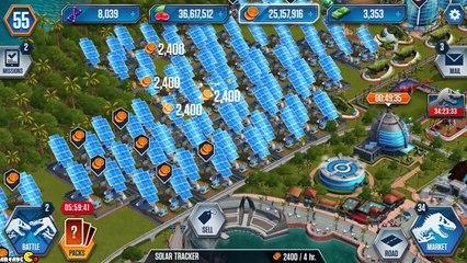 Hybird Indominus Rex Solo Challenge Nasutoceratops Arena Showcase - Jurassic World The Game!