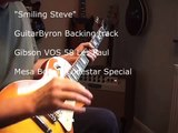 """Stevie Ray style  jam """"Smiling Steve"""" Upbeat Blues Gibson VOS 58 Les Paul"""
