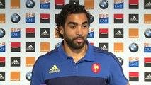 "XV  de France : Huget : ""Je savoure pleinement"""
