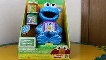 Cookie Monster's Find & Learn Number Blocks meets Thomas the Train!
