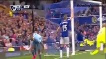 Manchester City 2-0 Everton - All Goals (08.23.2015)