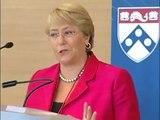 Plenary Session Keynote Address by Michelle Bachelet, Introduction by Penn President Amy Gutmann