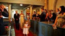 Bröllop Anna & Johan. Del 2: Vigseln i Alsike kyrka