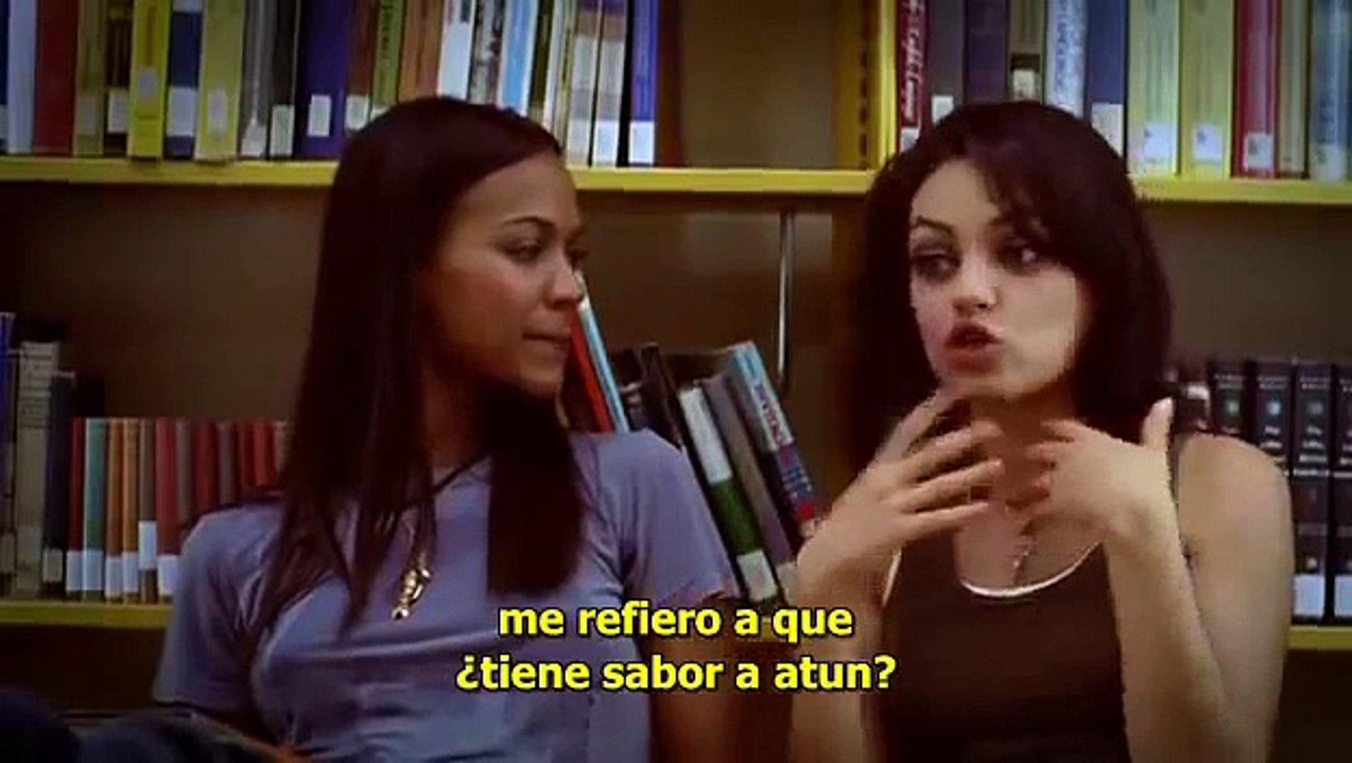 Mila kunas lesbian scene library