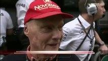 F1 Australian GP 2015   Niki Lauda Post Qualy   Lewis did a super job