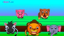 Finger Family Animals Cartoons | Animals Finger Family Nursery Rhymes Songs