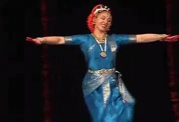 Kuchipudi Indian classical dance by www.elenatarasova.com