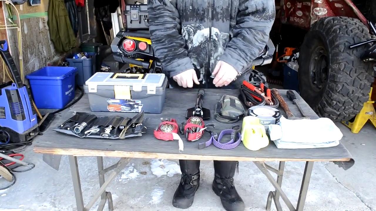 Can-Am G2 Outlander ATV Tool Box Storage