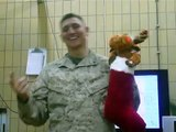 Never give a bored Marine Christmas Decorations