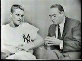 Roger Maris 1961 - Mel Allen-Roger Maris Interview, Yankee Stadium, WPIX-TV, 9/1961