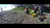 Saut Pendulaire du téléphérique du Pic du Midi - Pyrenaline - EXTREME ROPE JUMP