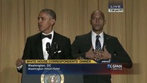 CSPAN - President Obama's Anger Translator Luther - closed captioned