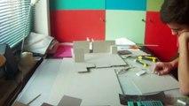 Création maquette Maison de Quartier (accélérée x50) - LOCI UCL BXL