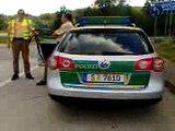 arrestation par les keuf pres de stuttgart pendant 2h enviro