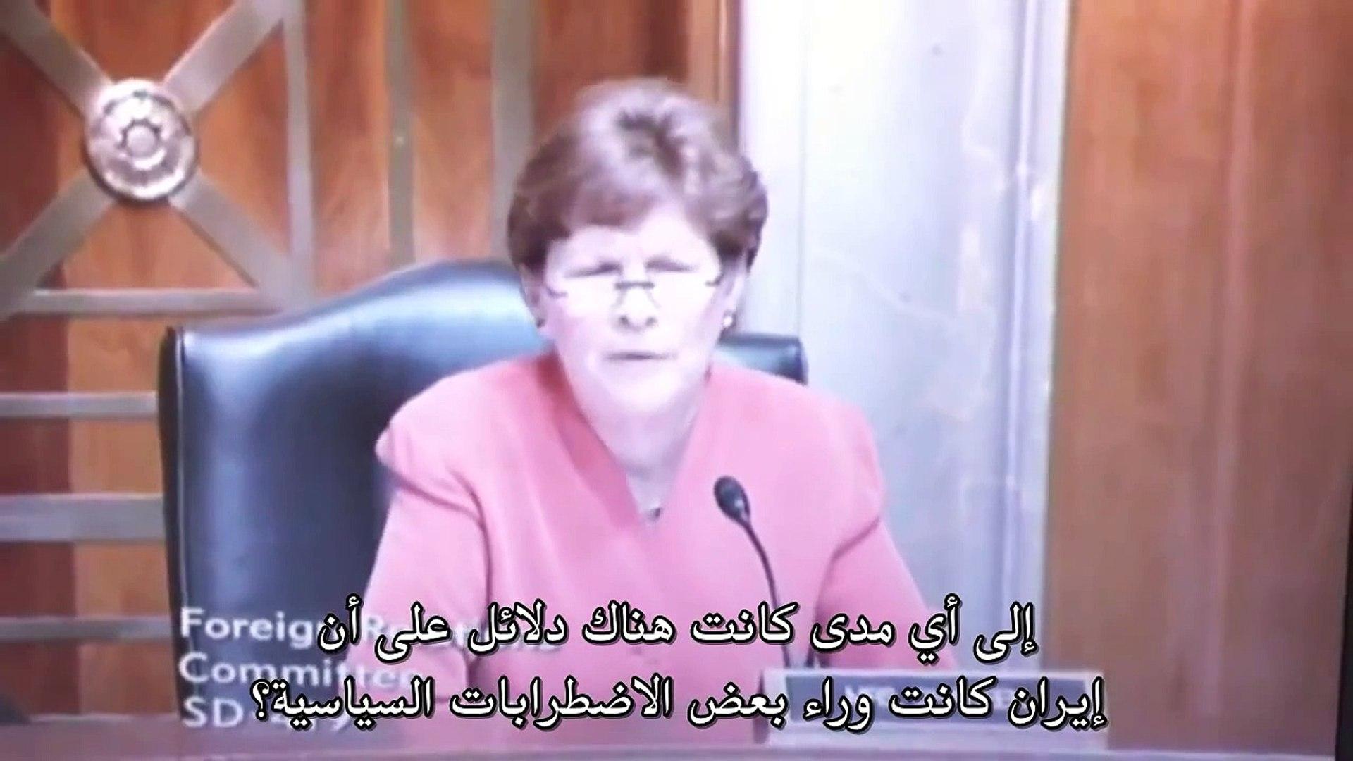 السفير الأمريكي في البحرين ينفي وقوف إيران وراء الثورة