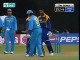 Cricket Fights   Sourav Ganguly v Russell Arnold   India v Sri Lanka final Match