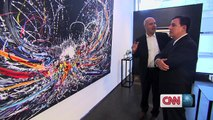 Gilles Dyan talk to CNN about the Middle Eastern art market