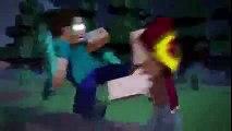 Notch vs Herobrine   Minecraft Fight Animation The Angels Among Demons   Minecraft Animation   10You