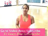 Cardio Kickboxing Workout Routines with DAR - another funky KICK BOX ROUTINE by DAR!!