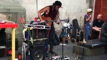 Street Performance Edinburgh Fringe Festival Reuben Stone