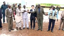 UNOPS South Sudan Ground Breaking Ceremony (River port construction) Sep 3, 2015