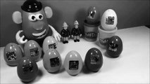 Oeufs surprise surprise eggs jouets Sam le pompier Toy story Disney Mr Potato