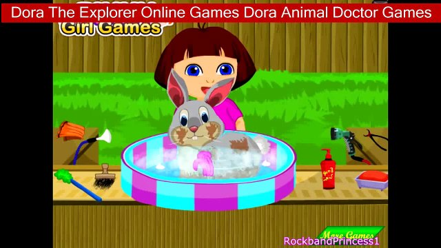 Dora The Explorer Online Games Dora Animal Doctor Games Dora, Dora The Explorer Games, Dora Games,