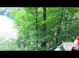 Travel Canada - Pink Lake at Gatineau Park Quebec