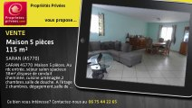 A vendre - Maison - SARAN (45770) - 5 pièces - 115m²