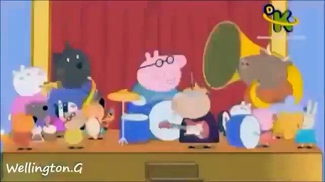 Turma da Peppa Pig Tocando Funk