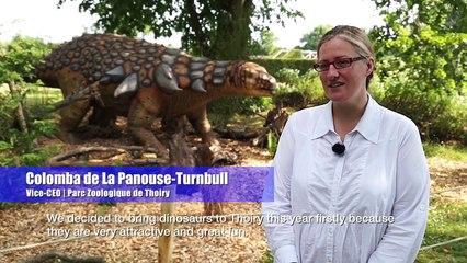 Une exposition hors du commun sur les dinosaures au Zoo de Thoiry