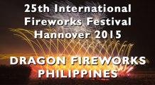 Int. Fireworks Festival Hannover 2015: Dragon Fireworks - Philippines - Philippinen - Feuerwerk