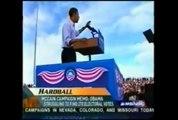 アメリカ大統領「バラク・フセイン・オバマ氏」演説中のUFO目撃動画!! ≪×BC≫