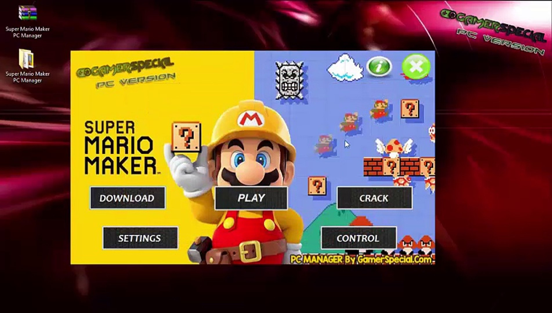 Super Mario Maker PC Version Download