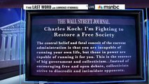 """Are BIllionaire Koch Bros """"Fighting for Freedom""""? - Lawrence O'Donnell"""