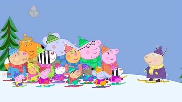 Peppa Pig Series 6 Snowy Mountain Final