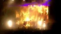 Skrillex performs at Billboard Hot 100 Music Festival Jones Beach