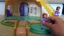 SOFIA THE FIRST Disney Junior Sofia's Royal Bed Playset Disney Jr Toys Sofia the First Toys