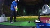 Golfゴルフ初心者4ヵ月半目 打ちっぱ ゴル練 練習