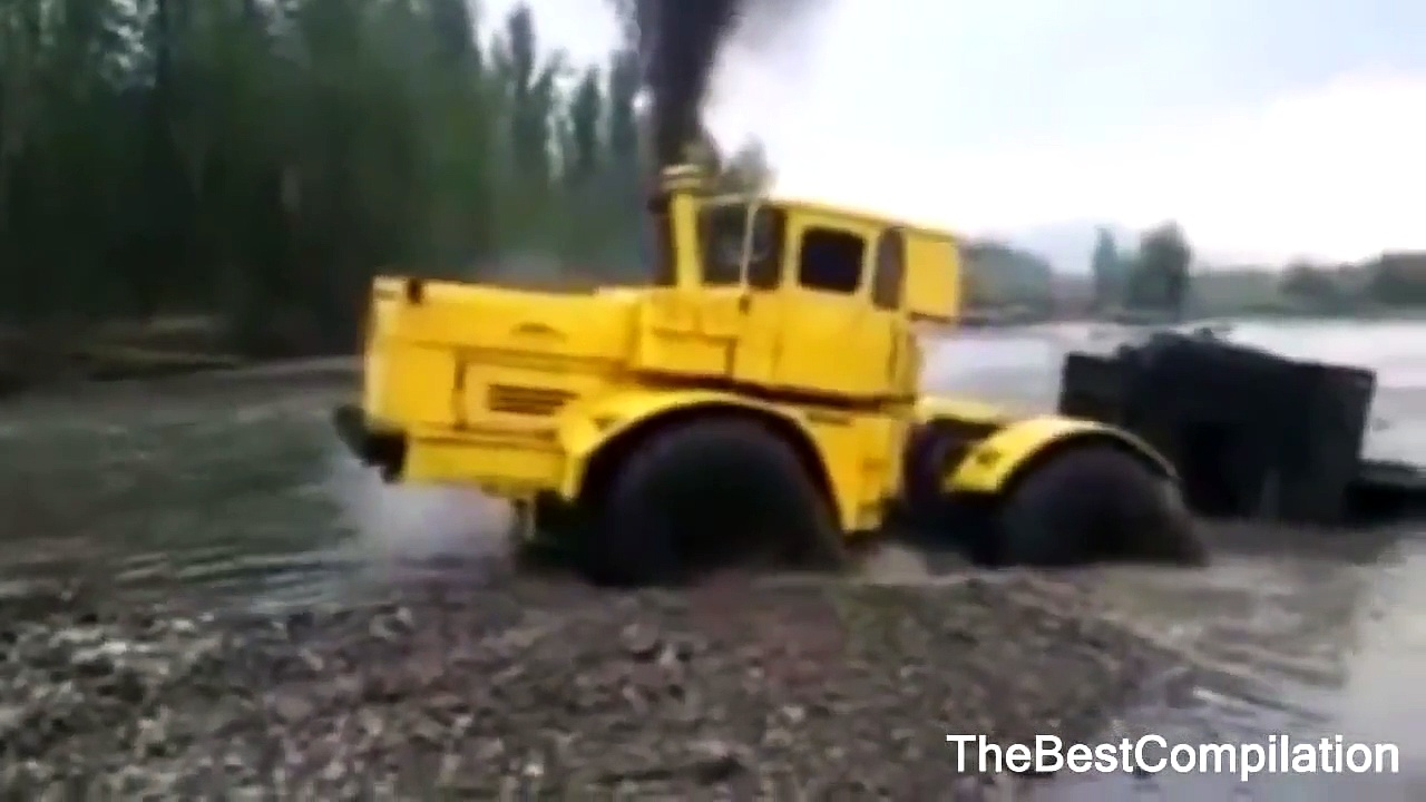 Russian trucks in Extreme conditions | Extreme Trucks