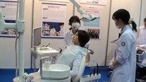 2011国際ロボット展 - 歯科臨床実習用ロボット SIMROIDの実演