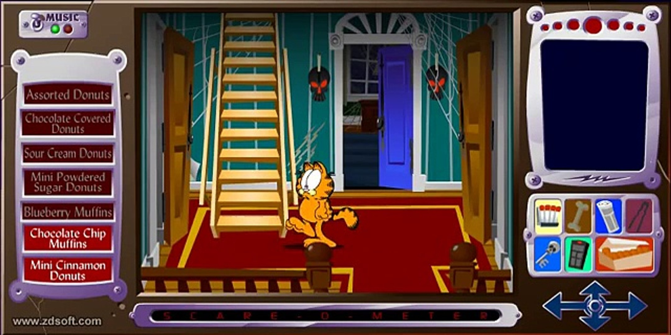Garfield Scary Scavenger Hunt 2 Player Krazykurt45 Video Dailymotion