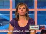 Entrevista a la Primera Dama Marta Linares de Martinelli en CNN.