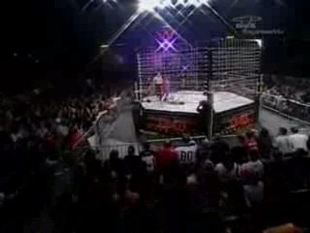 Gail Kim VS Jackie Moore Lockdown 2007
