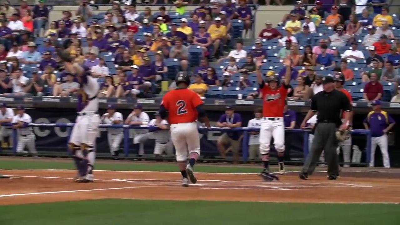 Auburn Baseball Highlights vs. LSU