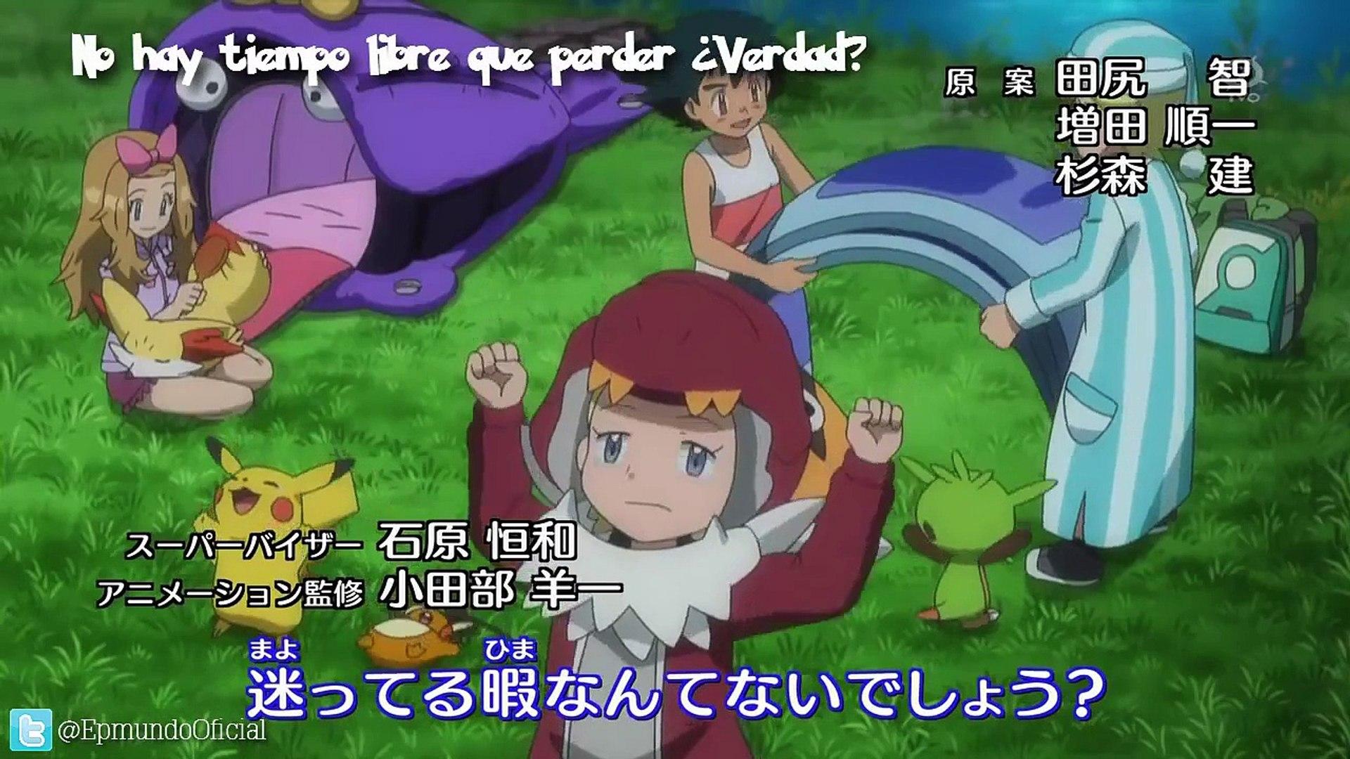 Pokémon XY Capítulo 12 - El Debut de Serena