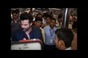Anil Kapoor spotted at Mumbai Airport leaving for IIFA Awards 2015 press conference