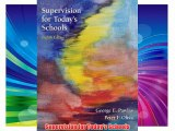 Supervision for Today's Schools Download Free Books
