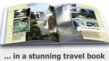 Make your own travel photo book - Free Software easy to make travel photo books