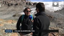 Italy's glaciers melting at alarming pace
